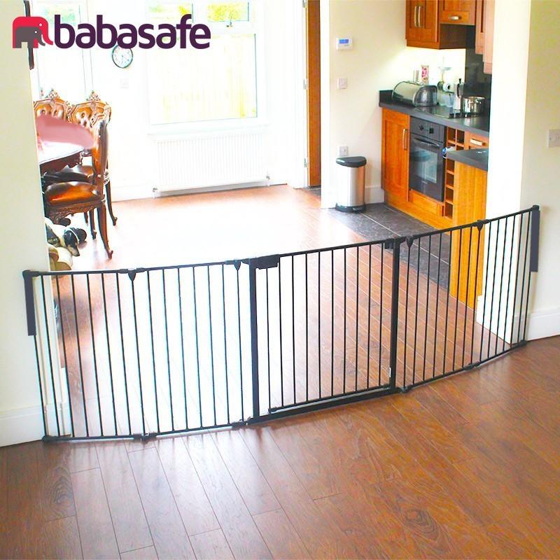 5 Panel Easyshut Xl Baby Gate Big Savings Babasafe Ireland