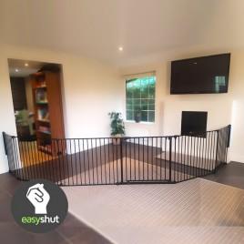 5-panel easyshut XL baby gate