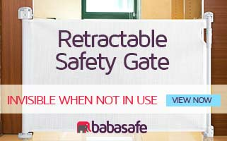 Retractable safety gate ireland
