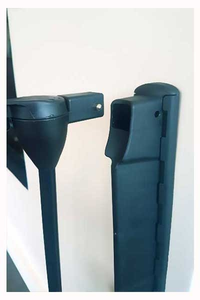 baby fire guards quick release brackets