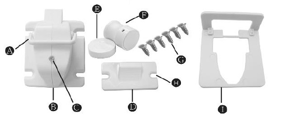 baby proof magnetic lock contents