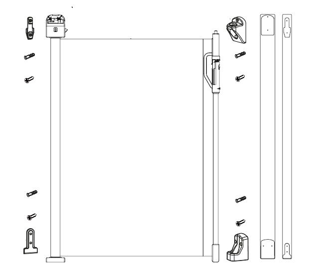 retractable gate diagram
